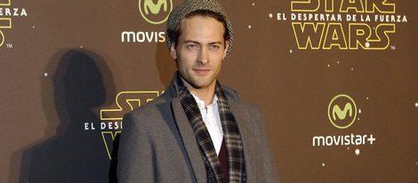 Peter Vives en el estreno de 'Star Wars: El Despertar de la Fuerza' en Madrid