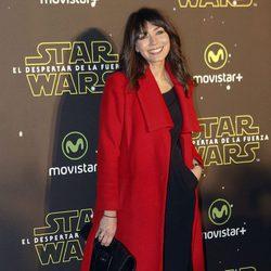 Marta Fernández en el estreno de 'Star Wars: El Despertar de la Fuerza' en Madrid