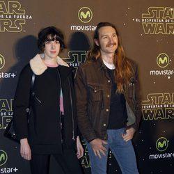 Brianda Fitz James y su novio Falkwyn de Goyeneche en el estreno de 'Star Wars: El Despertar de la Fuerza' en Madrid