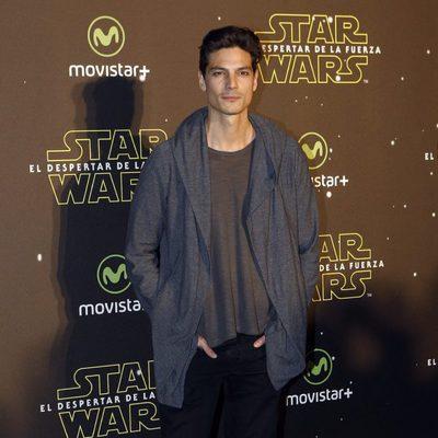 Javier de Miguel en el estreno de 'Star Wars: El Despertar de la Fuerza' en Madrid