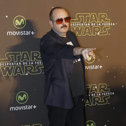 Carlos Areces en el estreno de 'Star Wars: El Despertar de la Fuerza' en Madrid