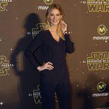 Teresa Baca en el estreno de 'Star Wars: El Despertar de la Fuerza' en Madrid