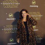 Samantha Vallejo-Nágera en el estreno de 'Star Wars: El Despertar de la Fuerza' en Madrid