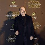 Antonio Resines en el estreno de 'Star Wars: El Despertar de la Fuerza' en Madrid
