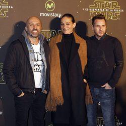 Laura Ponte y Alvarno en el estreno de 'Star Wars: El Despertar de la Fuerza' en Madrid