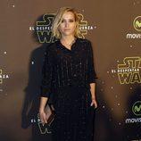 Ana Fernández en el estreno de 'Star Wars: El Despertar de la Fuerza' en Madrid