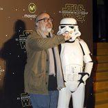 Álex de la Iglesia en el estreno de 'Star Wars: El Despertar de la Fuerza' en Madrid