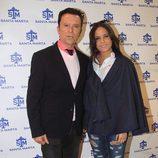 José Ortega Cano y Gloria Camila en la inauguración de la tienda de la joven en Sevilla