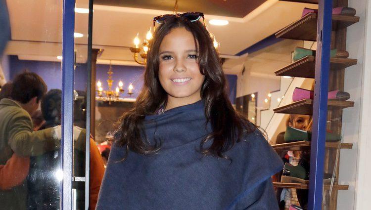 Gloria Camila en la inauguración de su tienda en Sevilla