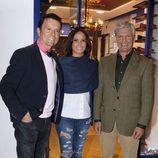 José Ortega Cano y Espartaco apoyan a Gloria Camila en la inauguración de su tienda en Sevilla