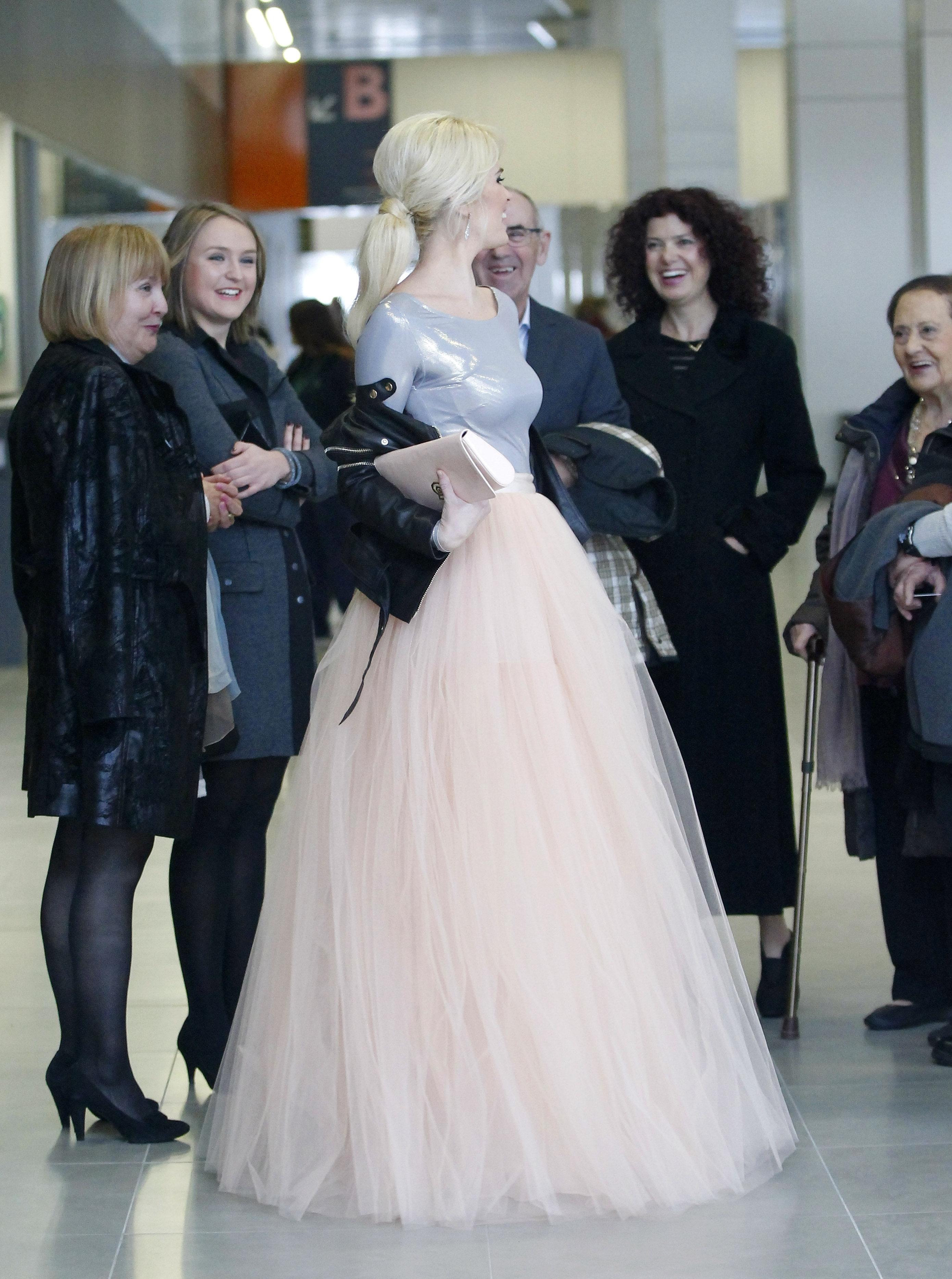 Vestidos de novia cortos rockeros