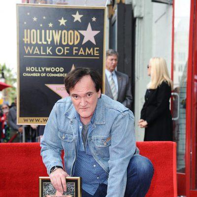 Quentin Tarantino recibe su estrella en el Paseo de la Fama de Hollywood