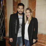 Tamara Gorro y Ezequiel Garay en el estreno de 'Iba en serio'