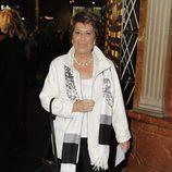 Conchita Pérez en el estreno de 'Iba en serio'
