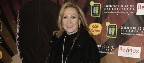 Rosa Benito en el estreno de 'Iba en serio'