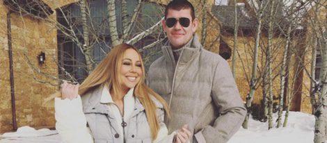 Mariah Carey y su actual pareja James Packer
