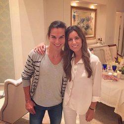 Ana Boyer y su hermano Julio Iglesias Jr. se reúnen para celebrar la Navidad