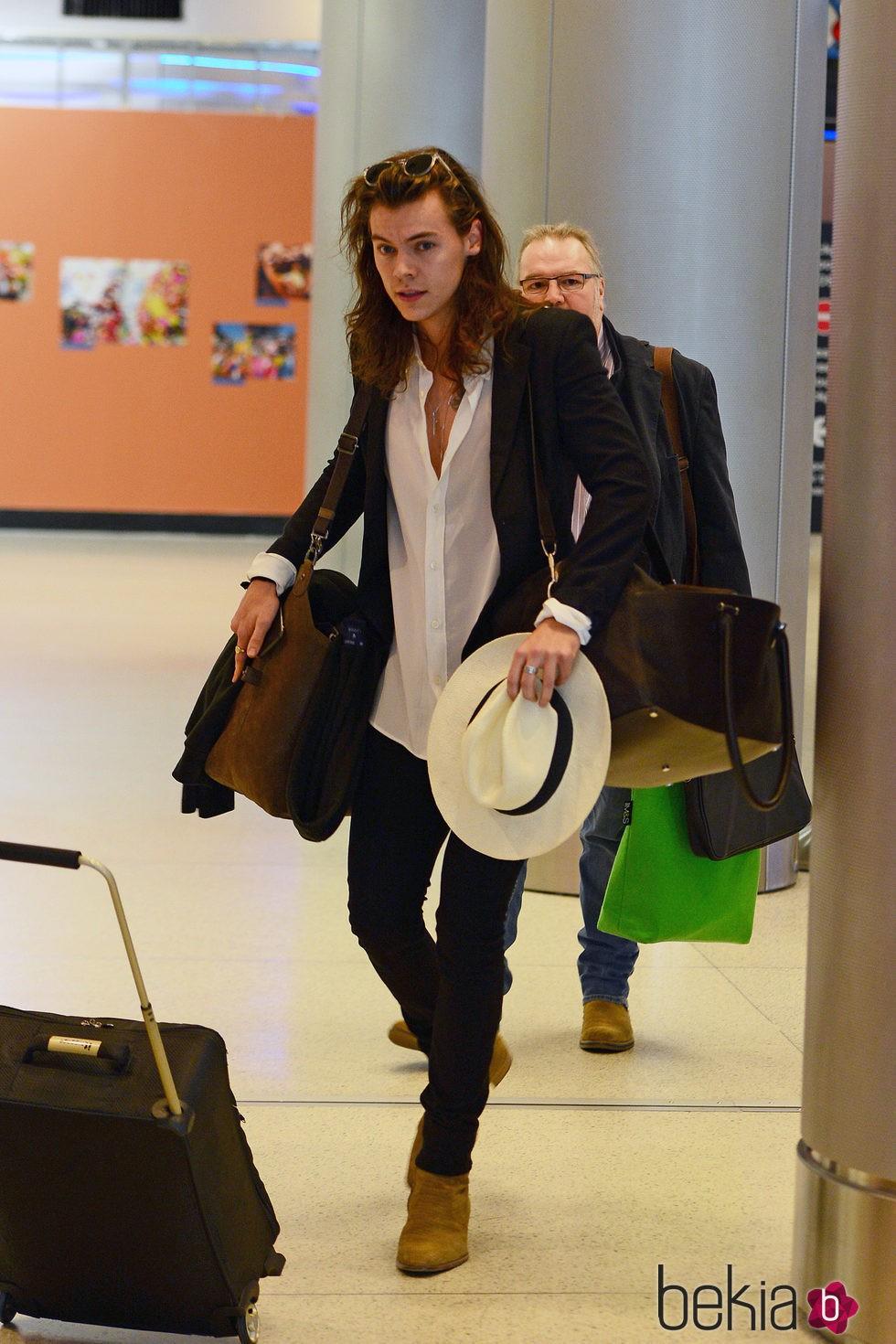 Harry Styles de vacaciones en Miami