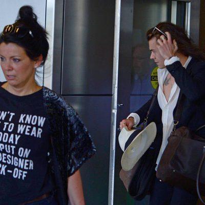 Harry Styles de vacaciones en Miami junto a su madre Anne