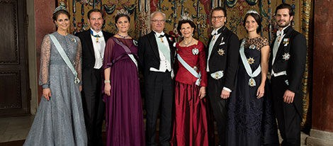 La Familia Real Sueca felicita el año 2016
