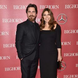 Christian Bale y Sibi Blazic en el Festival de Palm Springs 2016