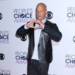 Vin Diesel, muy emotivo en los People's Choice Awards 2016