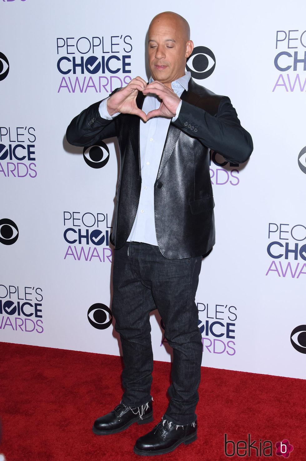 Vin Diesel, muy emotivo en los People's Choice Awards 2016
