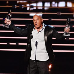 Vin Diesel recoge dos premios en los People's Choice Awards 2016