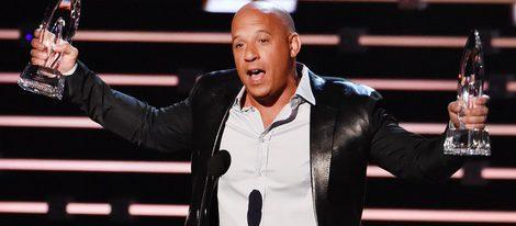 Vin Diesel recoge dos premios en los People's Choice Awards 2016
