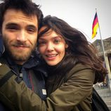 Ricardo Gómez y Ana Rujas pasan la Navidad 2015 en Berlín