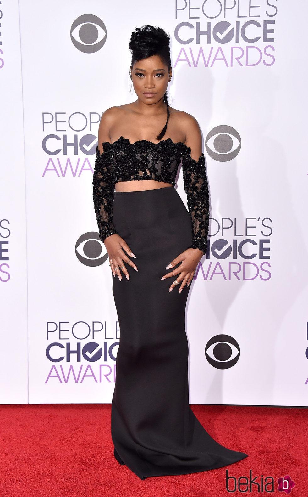 Keke Palmer en los People's Choice Awards 2016