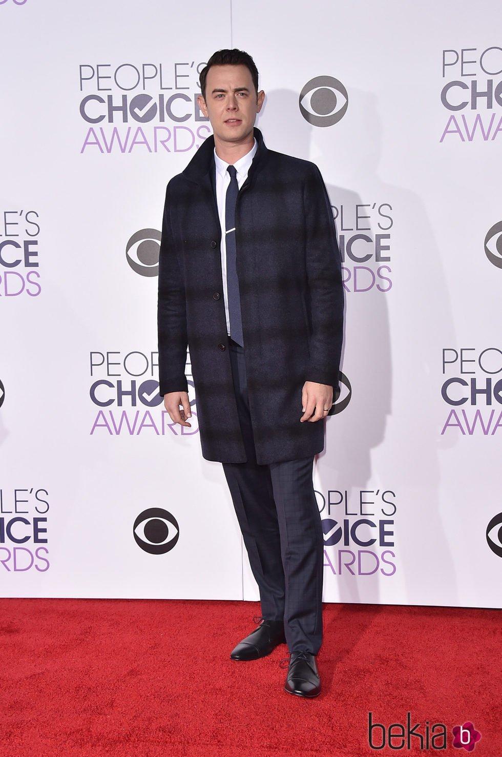 Colin Hanks en los People's Choice Awards 2016