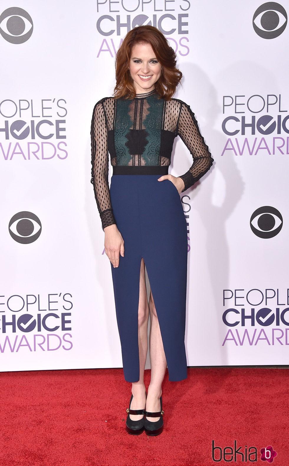 Sarah Drew en los People's Choice Awards 2016