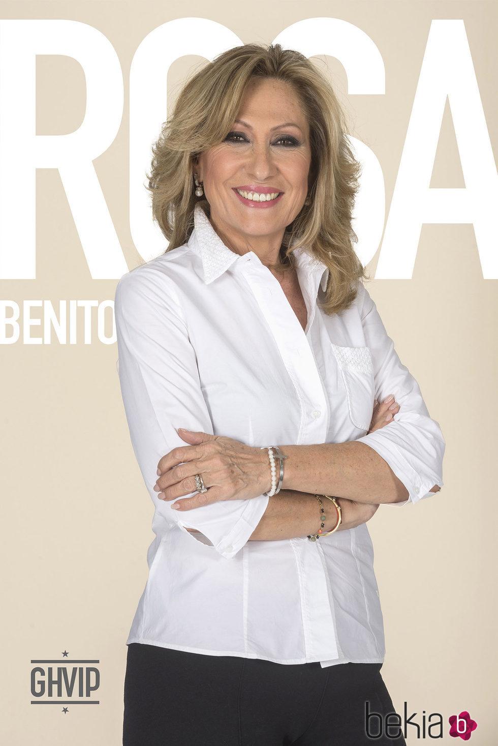 Rosa Benito en la fotografía oficial de 'Gran Hermano VIP 4'