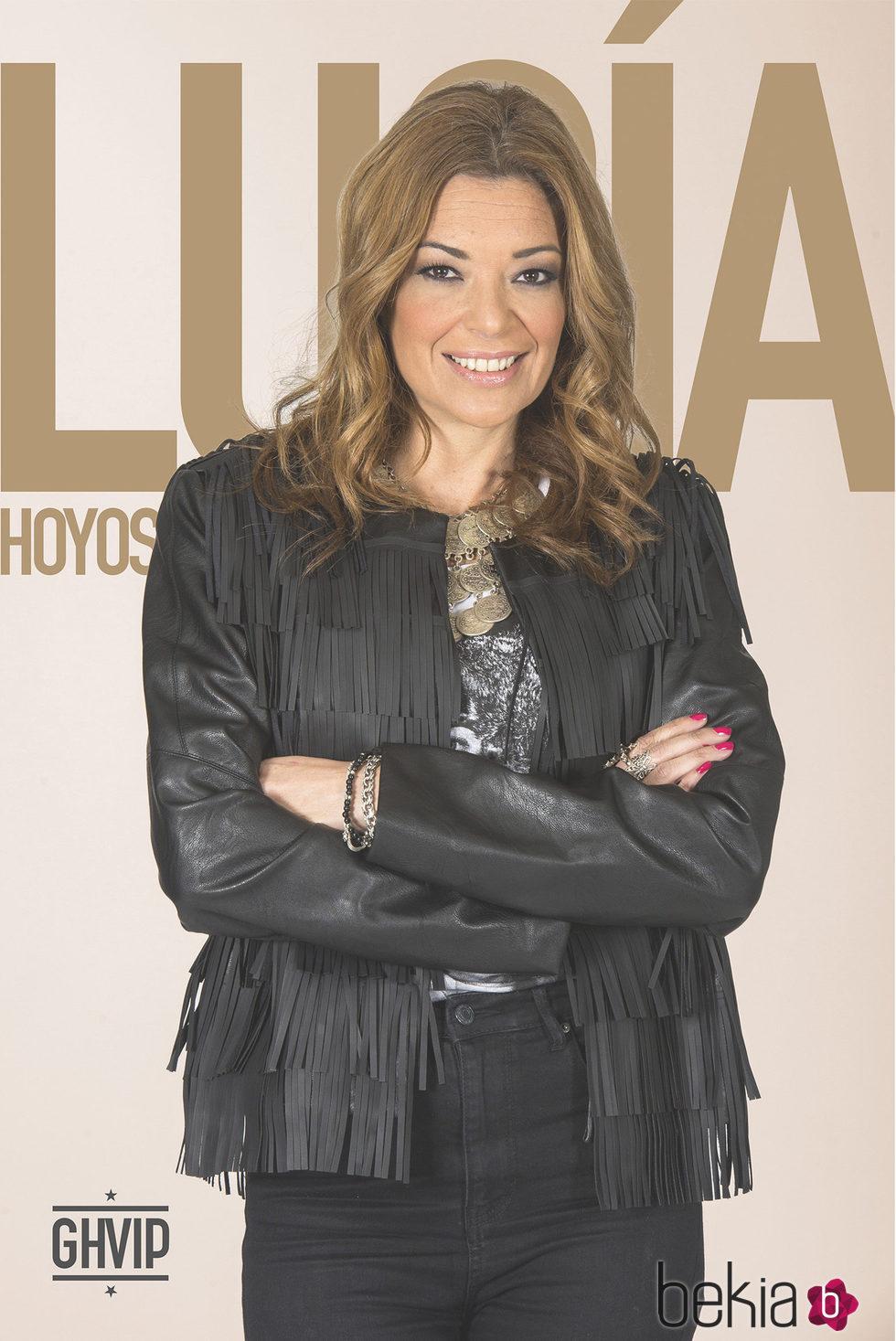 Lucía Hoyos en la fotografía oficial de 'Gran Hermano VIP 4'