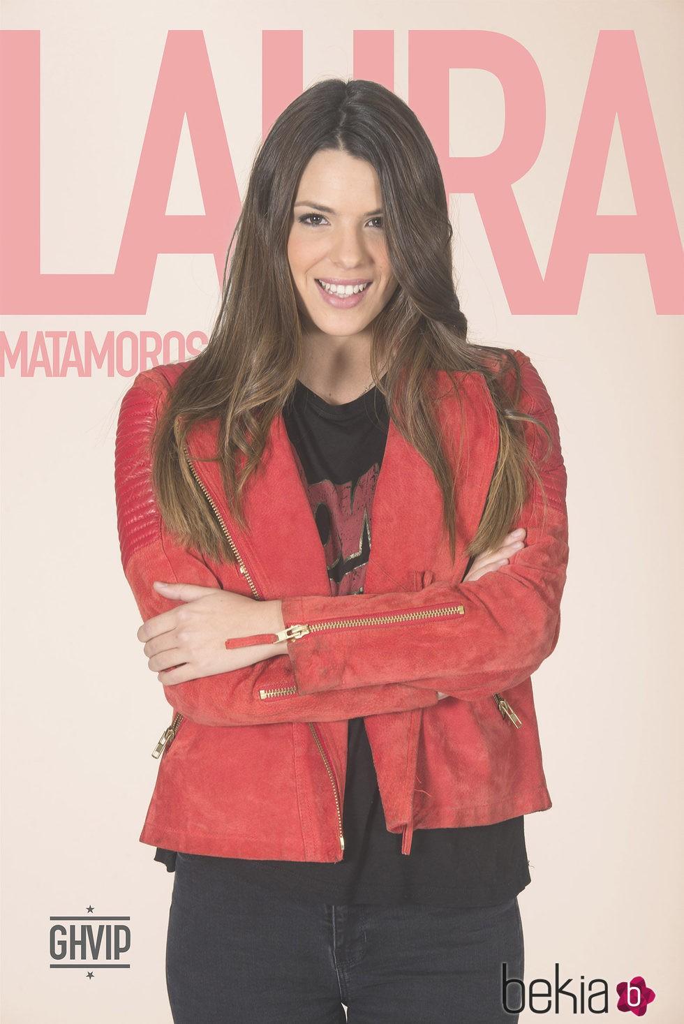 Laura Matamoros en la fotografía oficial de 'Gran Hermano VIP 4'