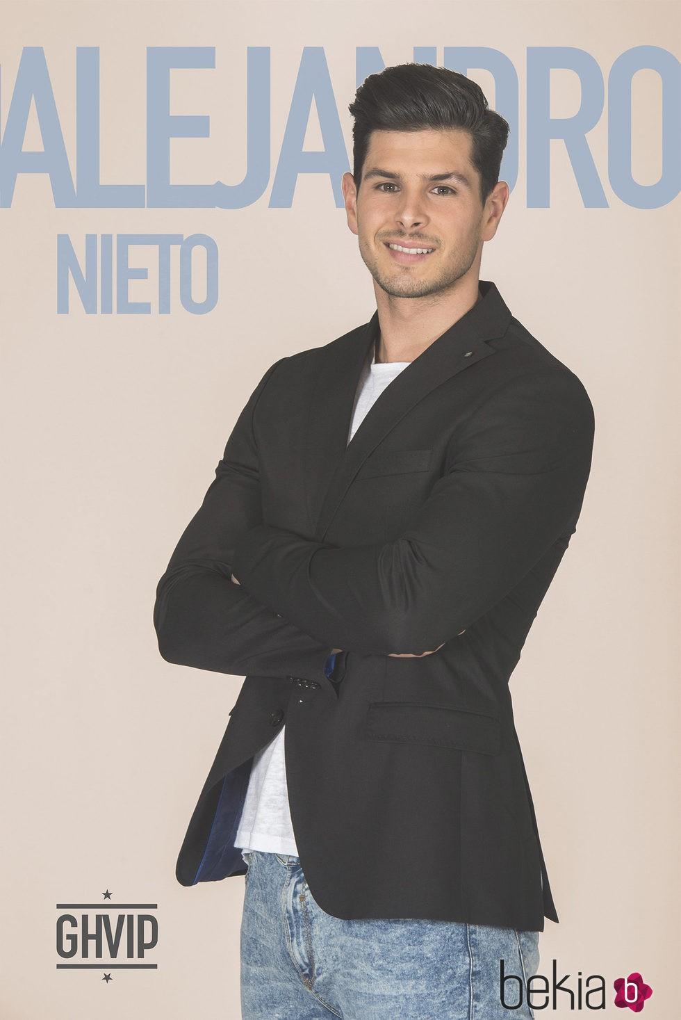 Alejandro Nieto en la fotografía oficial de 'Gran Hermano VIP 4'