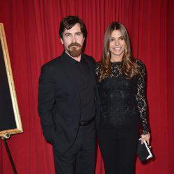 Christian Bale y su mujer Sibi Blazic en los Premios AFI 2016