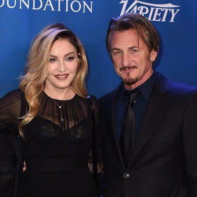 Madonna y Sean Penn en la gala benéfica por Haití  2016 organizada por el actor