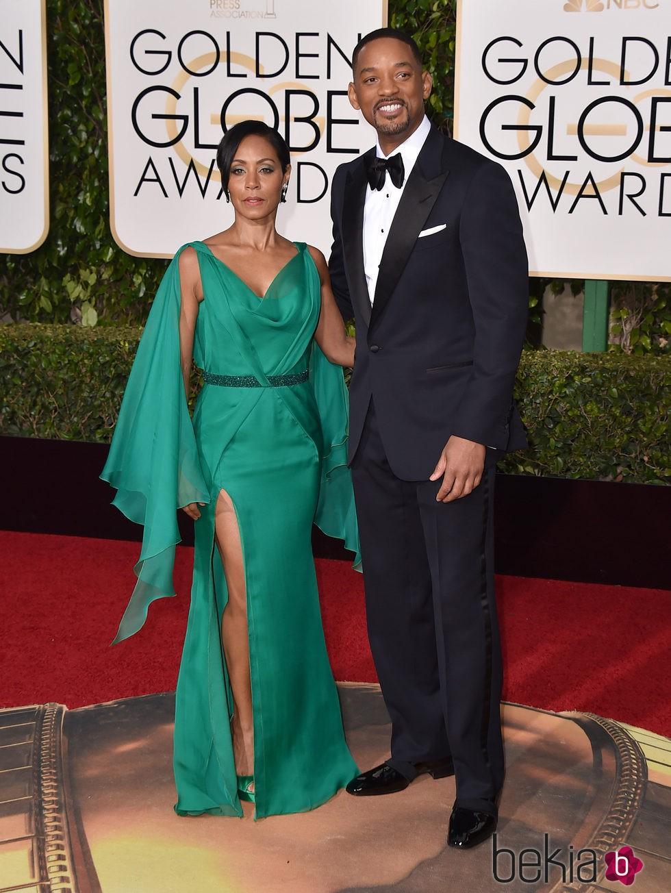 Will Smith y Jada Pinkett Smith en la alfombra roja de los ...