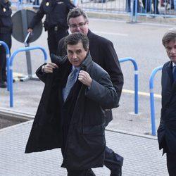 Jaume Matas en el inicio del juicio por el Caso Nóos