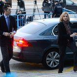 La Infanta Cristina e Iñaki Urdangarín llegan al juicio por el Caso Nóos