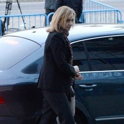 La Infanta Cristina a su llegada al juicio por el Caso Nóos