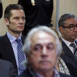 Iñaki Urdangarín y Diego Torres en la primera sesión por el Caso Nóos