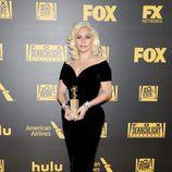 Lady Gaga en la fiesta de FOX tras los Globos de Oro 2016