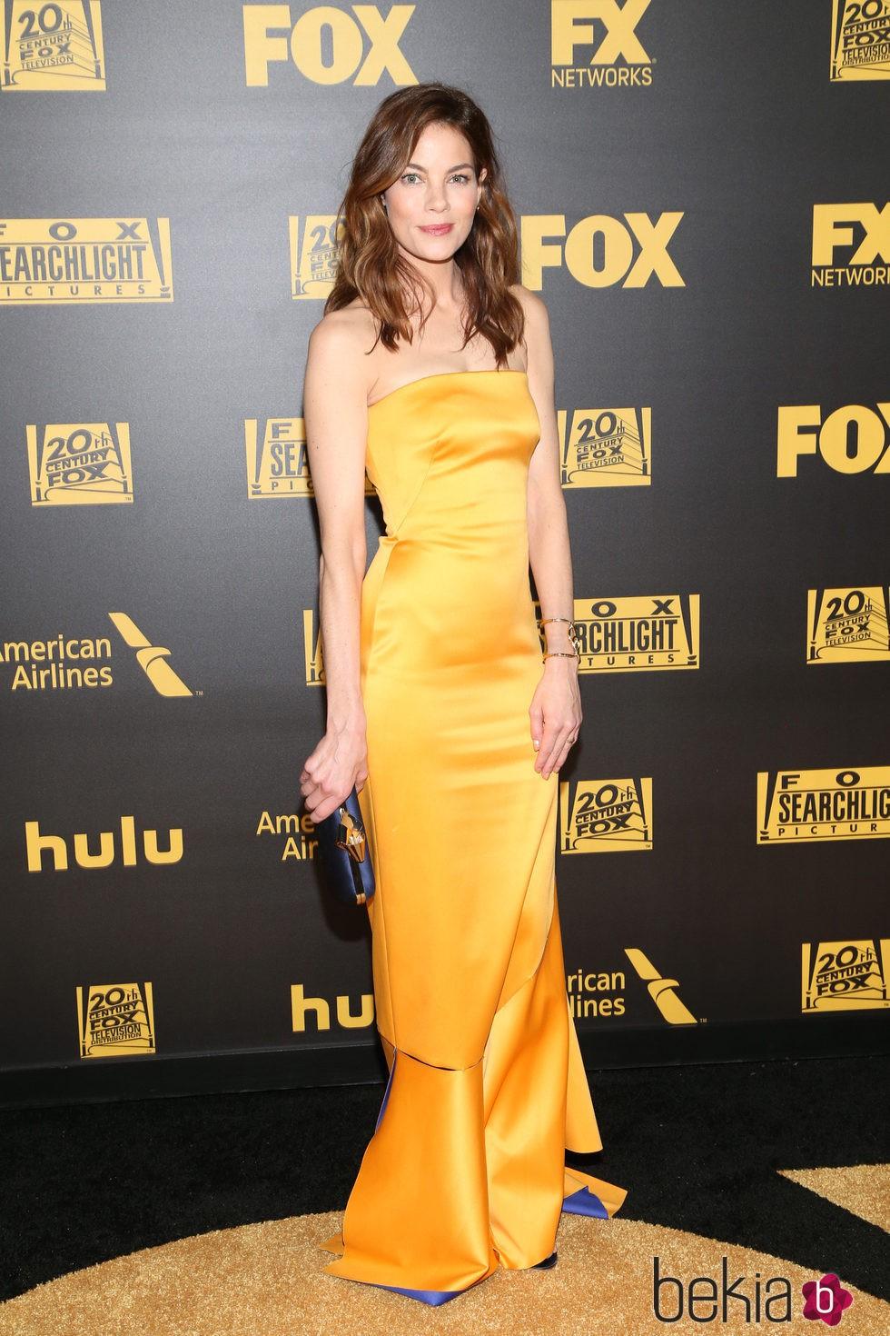 Michelle Monaghan en la fiesta de FOX tras los Globos de Oro 2016