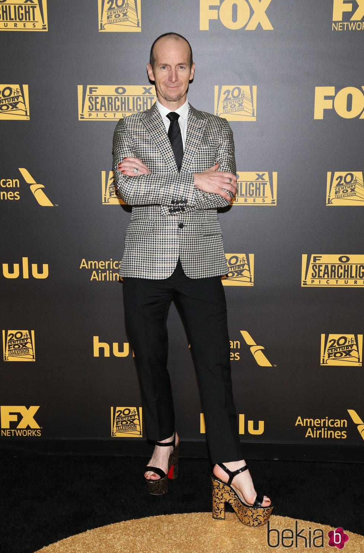 Denis O'Hare en la fiesta de FOX tras los Globos de Oro 2016