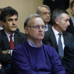 Marco Antonio Tejeiro en el banquillo de los acusados por el Caso Nóos