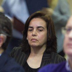 Ana María Tejeiro en el banquillo de los acusados en el juicio por el Caso Nóos