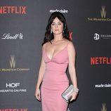 Katy Perry en la fiesta de Netflix tras la entrega de los Globos de Oro 2016